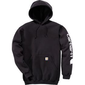 Carhartt Midweight Sleeve Logo Hoody Men black